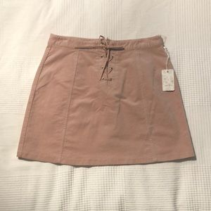 NWT Forever 21 Corduroy Mini Skirt